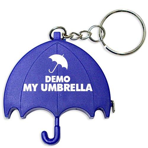 Promotional Umbrella Shape Tape Measure Keychains