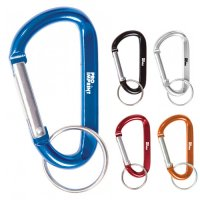 2.75 Inch Customized Carabiner Metal Keychains
