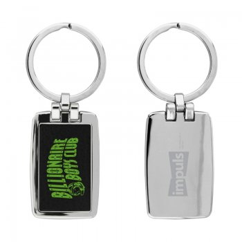 Custom Imprinted Westport Metal Keychains