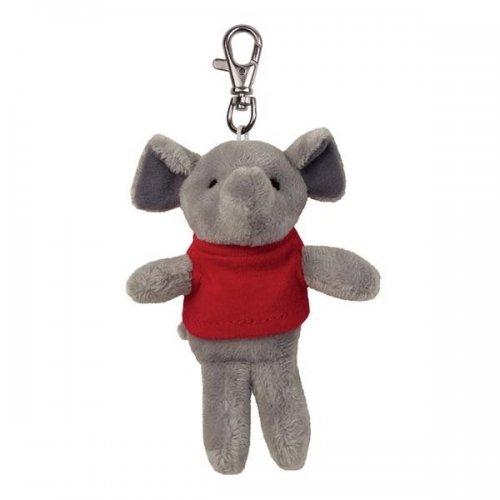 Custom Printed Soft Elephant Key Tags with X -Small T -Shirt