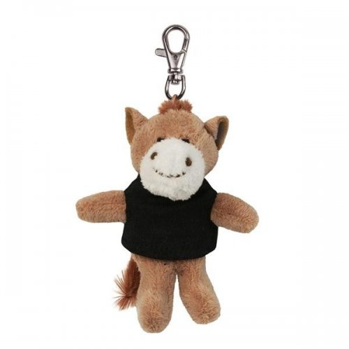 Custom Printed Soft Horse Key Tags with X -Small T -Shirt