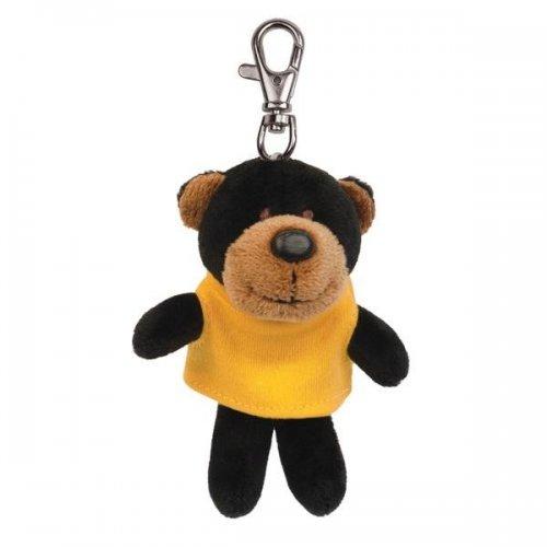 Custom Soft Black Bear Key Tags with X -Small T -Shirt