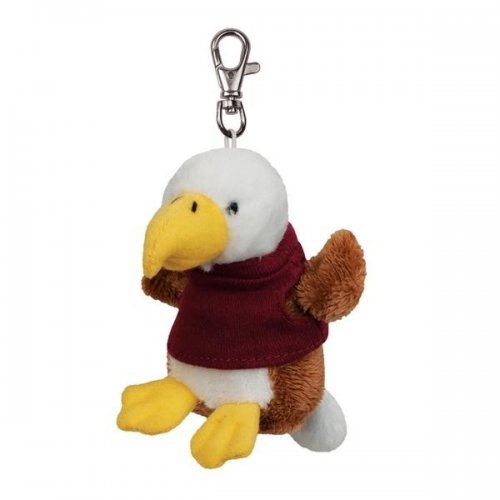 Promotional Logo Soft Eagle Key Tags with X -Small T -Shirt
