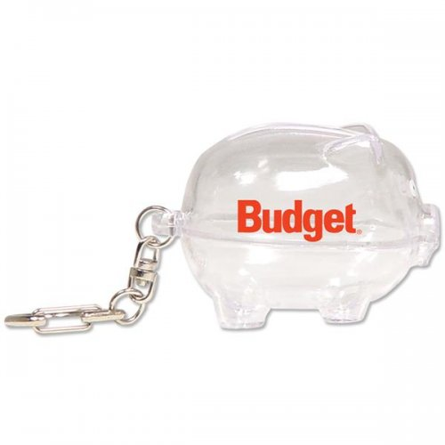 customized piggy bank keychains clear best sellers