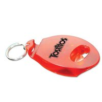 Customized Tab Popper & Bottle Opener Keychains - Red