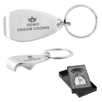 Custom Printed Apri Metal Keychains