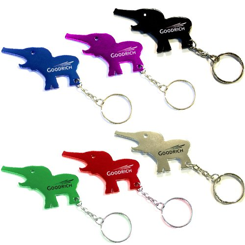 personalized elephant shape metal bottle opener with key holder bottle opener keychains. Black Bedroom Furniture Sets. Home Design Ideas