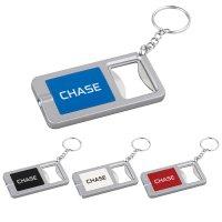 Promotional Logo Keylight and Bottle Opener Keychains