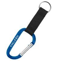 6mm Custom Carabiner keychains - Blue