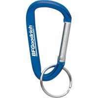 Customized Carabiner Keychains - Blue