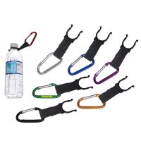 8cm Personalized Water Bottle Holder With Carabiner Keychains