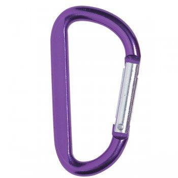 6mm Custom Carabiner keychains - Purple