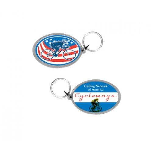 Custom Imprinted Key Tags | Personalized Acrylic Keytags