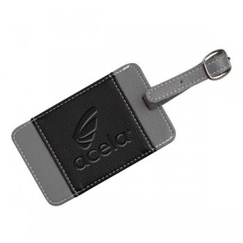 Custom Imprinted Lamis Two-Tone Luggage Tags