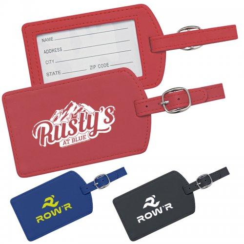 Custom printed paper luggage tags