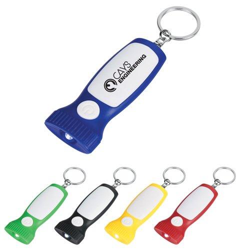 Customized Slim LED Light Key Chains