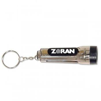 Customized Flashlight Keychains - Smoke