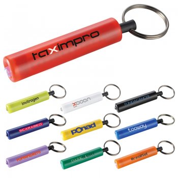 Retro Flashlight Keychains