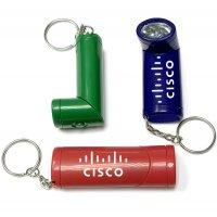 Custom LED Flashlight With Keychains