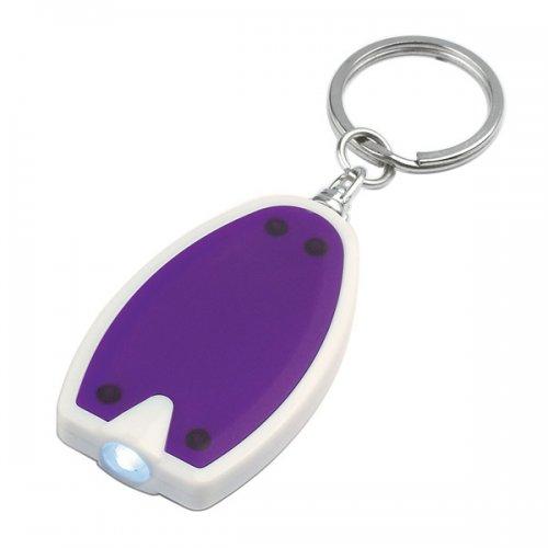 Custom LED Keychains - Purple
