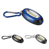 Custom Printed COB Keylight with Carabiners