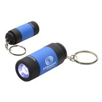 Custom Twist Light LED Keychains - Blue