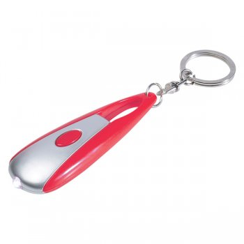 Customized Astro LED Light Keychains - Red