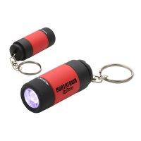 Customized Twist Light LED Keychains - Red