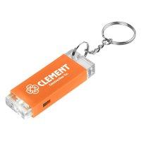 Promotional Crystal Block LED Light Keychains