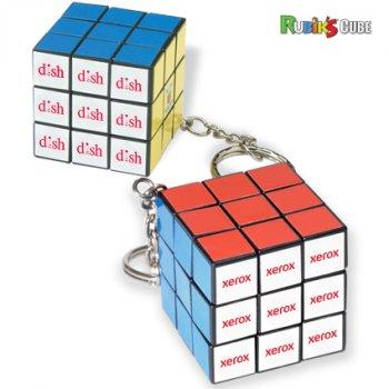 Custom Printed Micro Rubik's Cube Key Holder