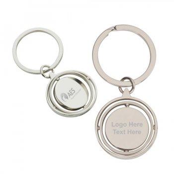 Custom Imprinted Laksana Metal Keychains