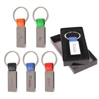 Custom Printed Silver Metal Keychains