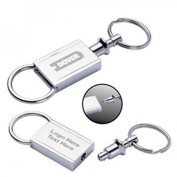 Customized Trilho Metal Keyrings
