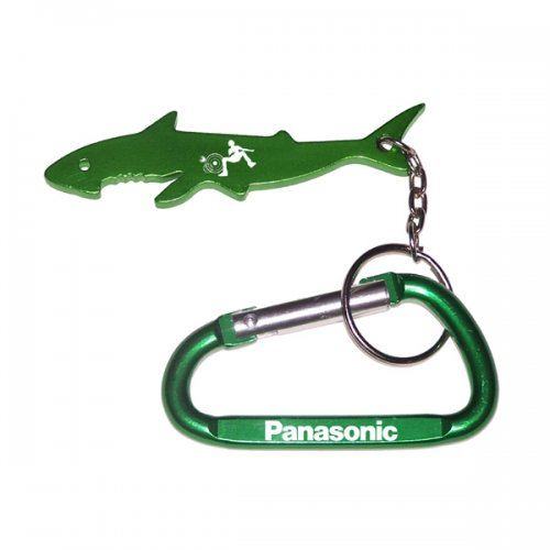Personalized Shark Shape With Carabiner Keychains