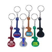 Promotional Guitar Shape Bottle Opener Keychains