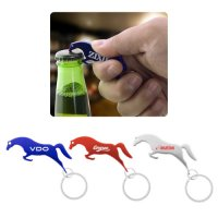 Promotional Jumping Horse Metal Keychains