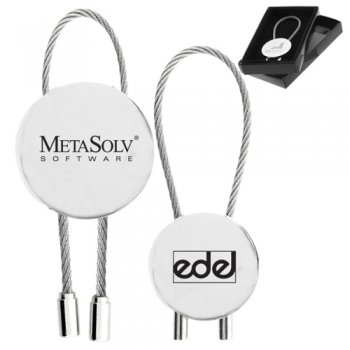 Promotional Round Shaped Circolo Metal Keychains