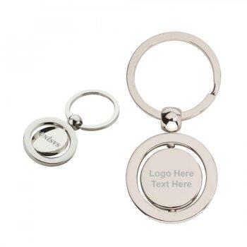 Promotional Swivel Metal Keychains