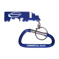 Promotional Truck Shape Bottle Opener Keychains