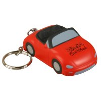 Custom Printed Convertible Car Shaped Keychains