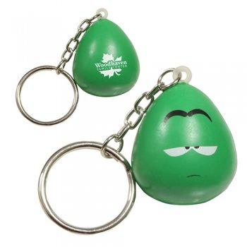 Customized Apathetic Mood Maniac Stress Reliever Keychains