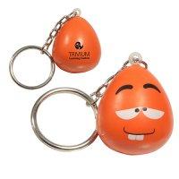 Promotional Wacky Mood Maniac Stress Reliever Keychains