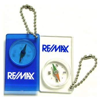 Compass with Bead Keychains