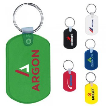 Custom Keychains Imprintable with Promotional Logo