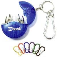 Custom Mini 4-in-1 Screwdriver Tool Set Keychains