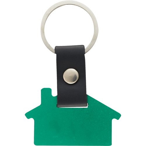 Personalized House Keychains - Green