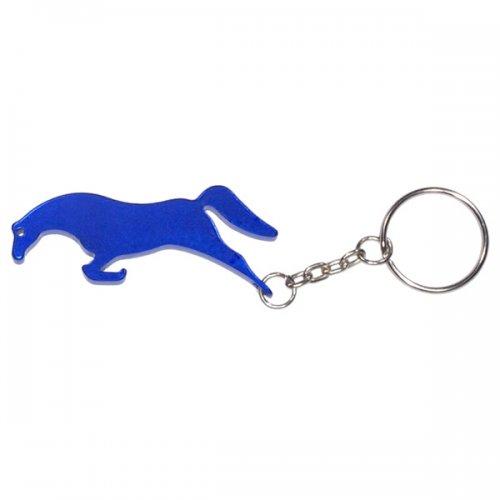 Customized Horse Shape Bottle Opener Animal Keychains