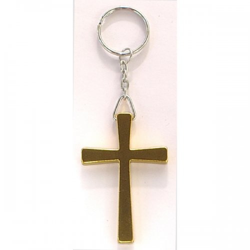 Custom Cross Shape Keychains Holder