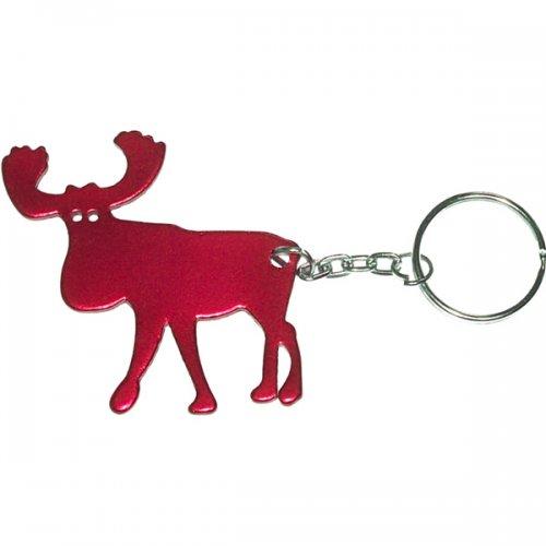 Moose Shape Bottle Opener Keychains