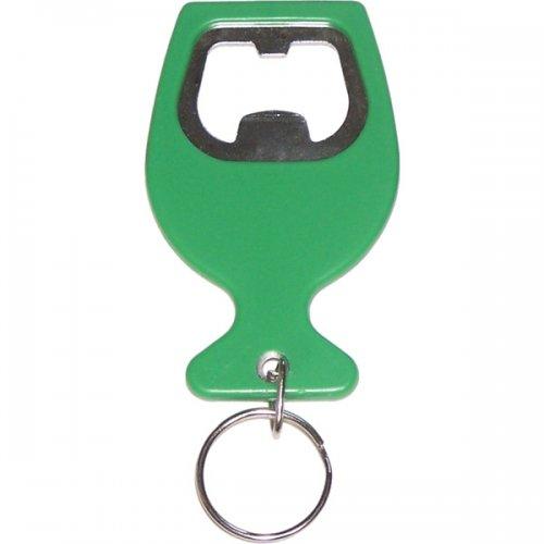Custom Wine Cup Shape Bottle Opener Keychains